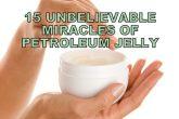 benefits of petroleum jelly