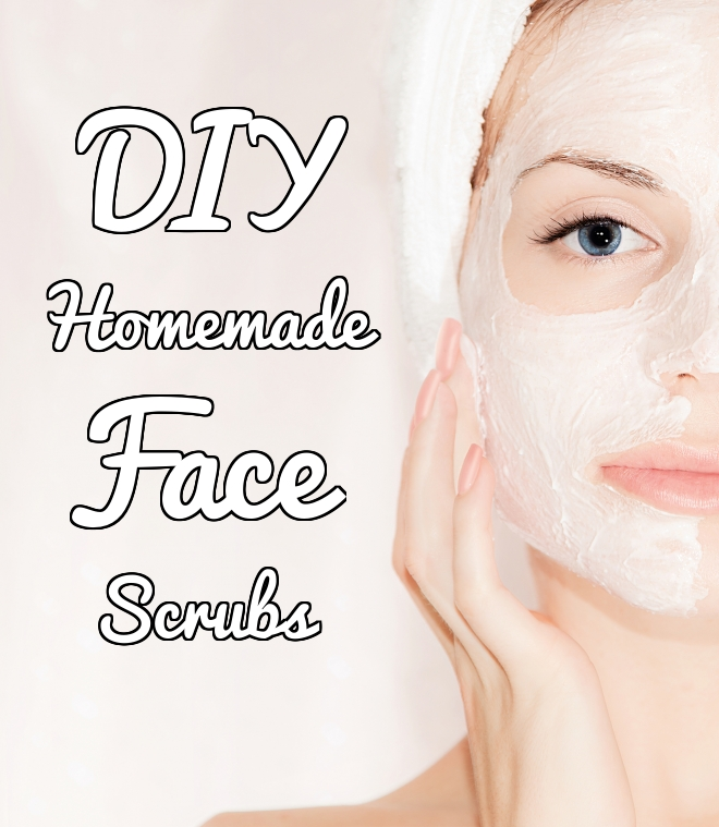 DIY Homemade Face Scrubs