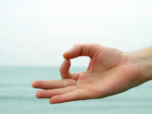 chin mudra 300x224 Yoga Styles and Yoga Poses For Starters [Infographic]