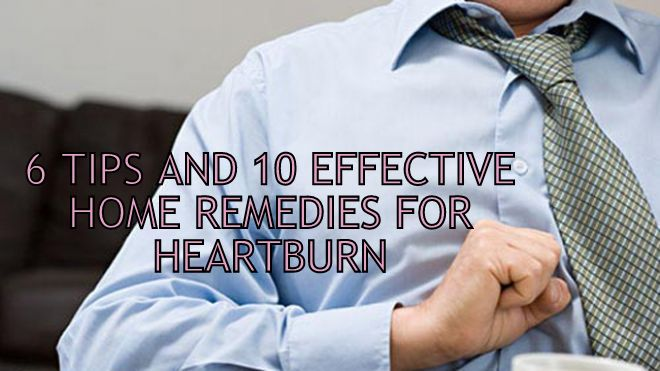 heartburn symptoms 6 Tips & 10 Effective Home Remedies For Heartburn
