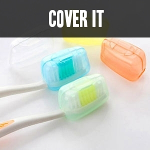 Cover toothrush
