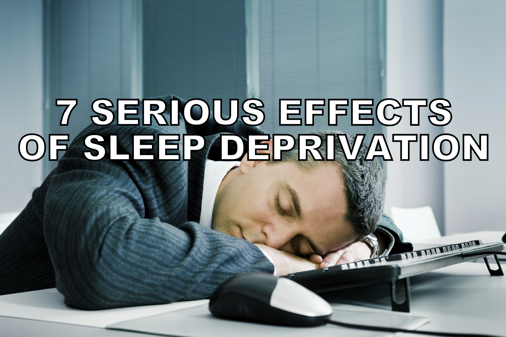 the effects of sleep deprivation on Think the physical effects of sleep deprivation aren't dangerous then you're pretty ignorant not only can the physical effects of sleep deprivation be dangerous.