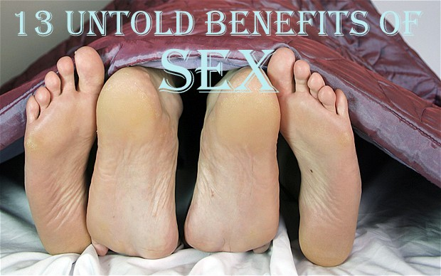 13 Untold Health Benefits of Sex