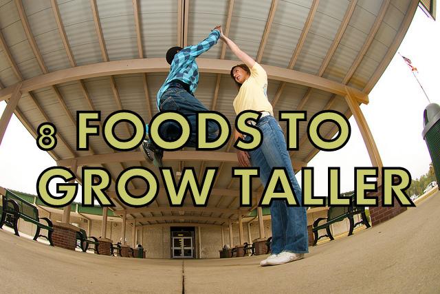 Foods that help grow taller naturally