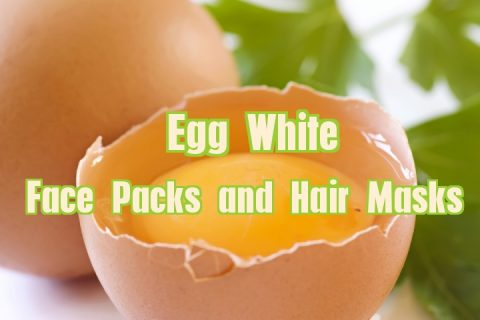 Egg White Masks - Face Packs and Hair Masks