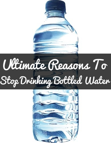Reasons To Stop Drinking Bottled Water