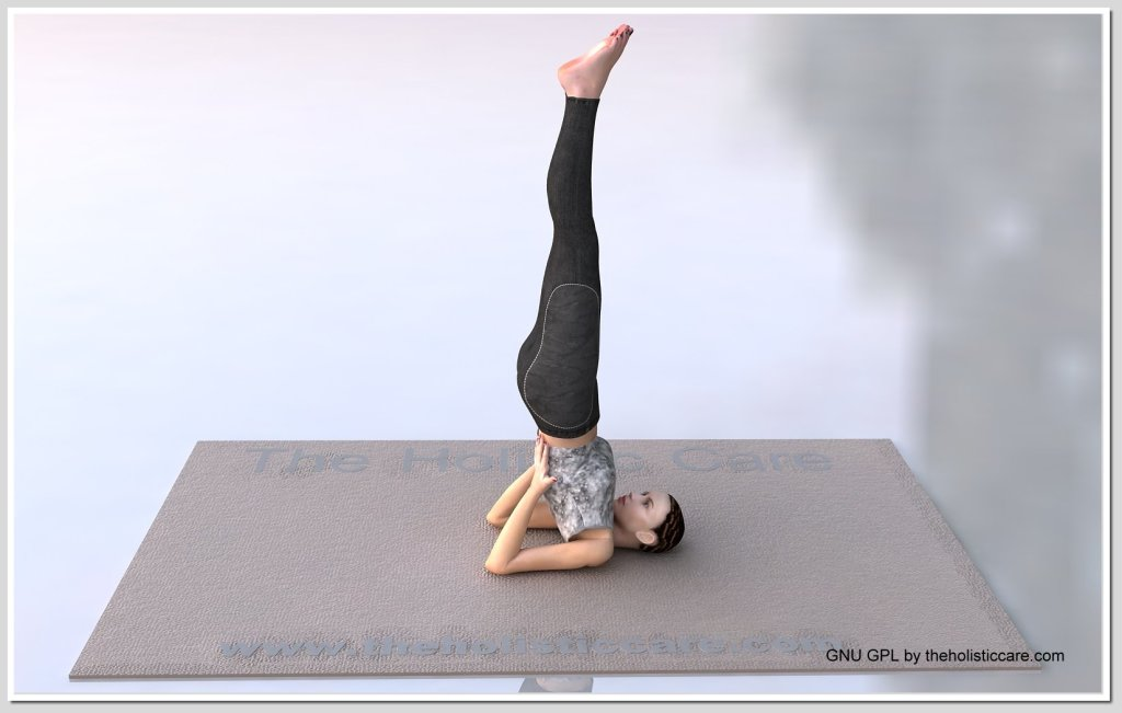Sarvanga Asana - Shoulder Stand Pose