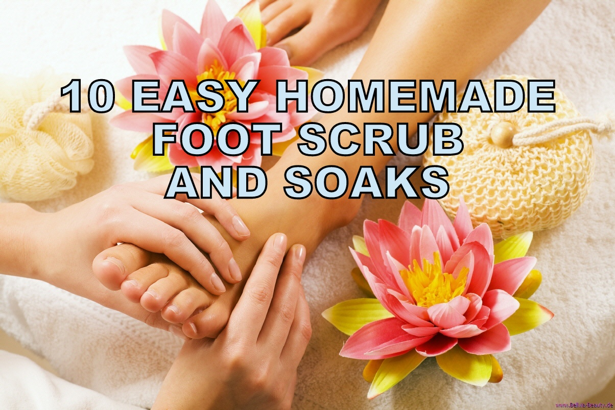 DIY Rejuvenating Foot Soak