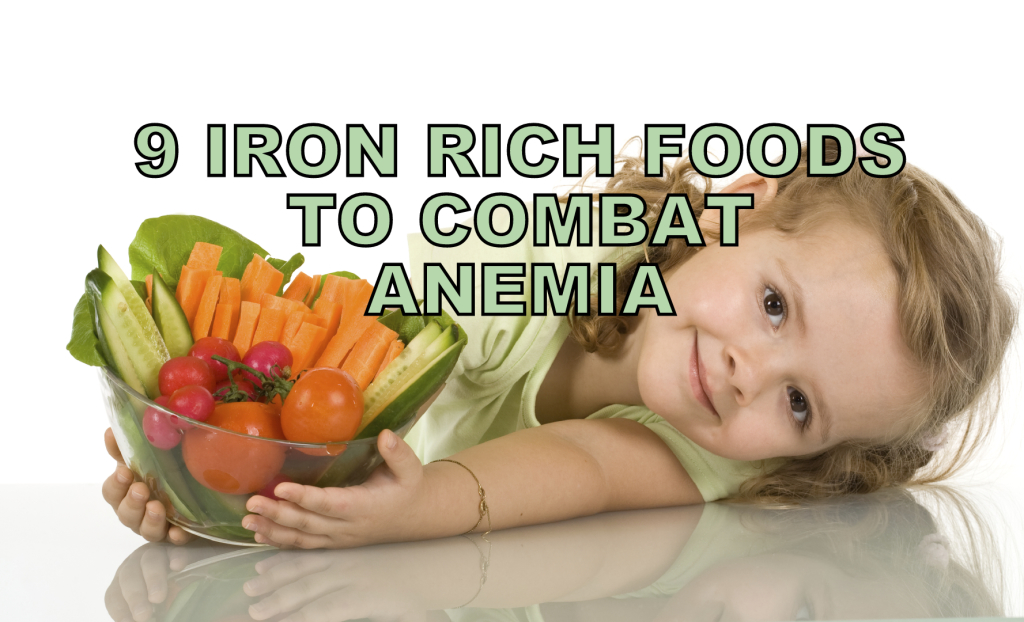 IRON RICH FOODS For Anemia