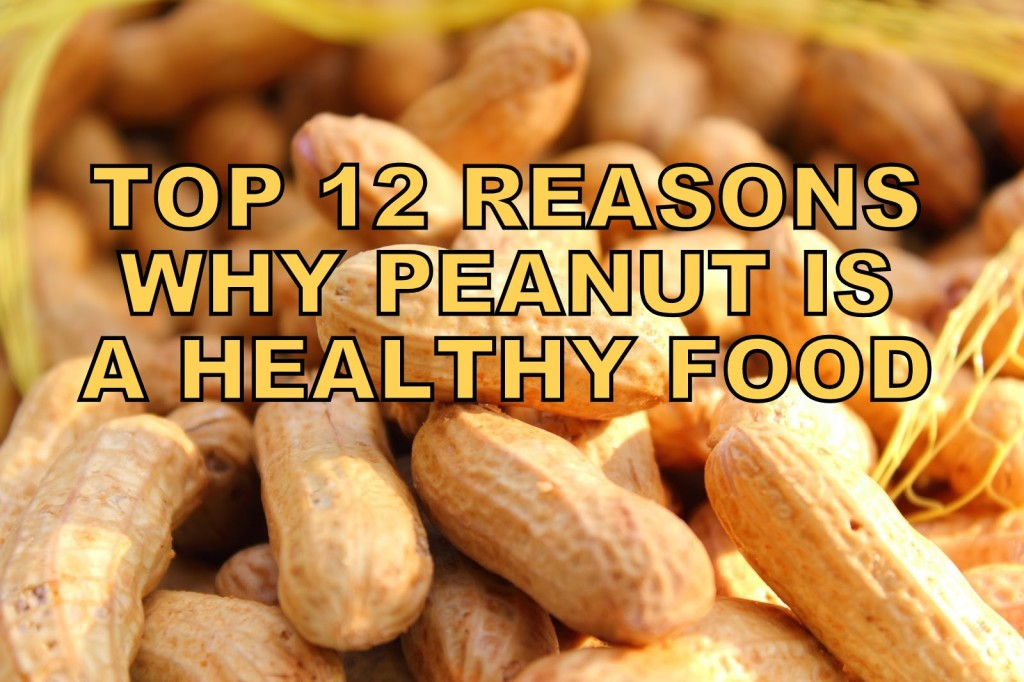 peanuts is healthy food