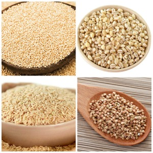 whole grains - Amaranth - barley - Brown rice - Buckwheat - small image