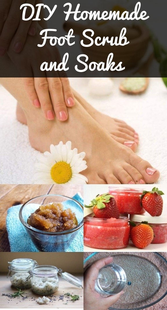 Homemade Foot Spa Solution