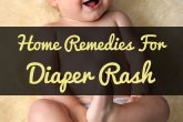 Home Remedies For Diaper Rash Treatment