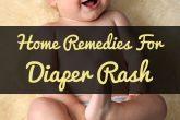 Home Remedies For Diaper Rash Treatment