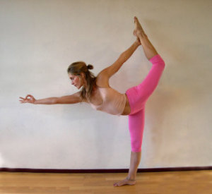 NATRAJ ASANA 300x275 Yoga Styles and Yoga Poses For Starters [Infographic]