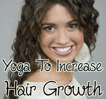 Yoga to Reduce Hair Fall and Increase Hair Growth