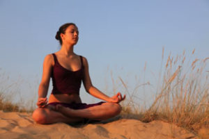 lotus pose 300x200 Yoga Styles and Yoga Poses For Starters [Infographic]