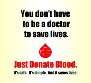 Just Donate Blood