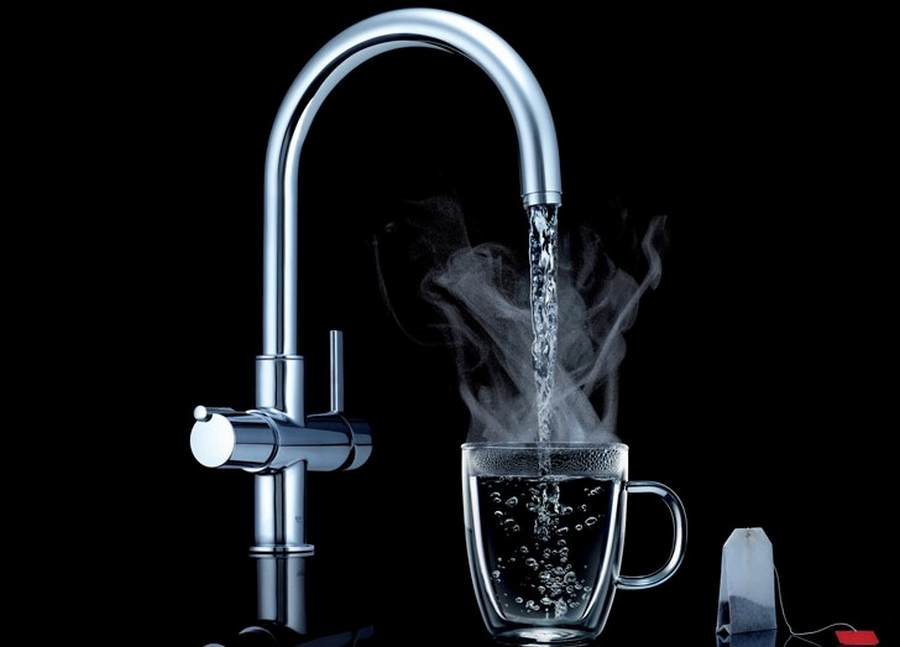 Boiling Faucet Water To Drink