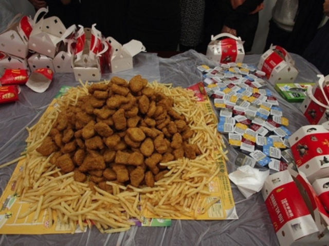 Chicken Nugget Mountain