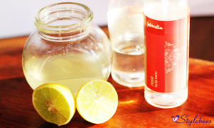 Glycerin rosewater and lemon for soft hands