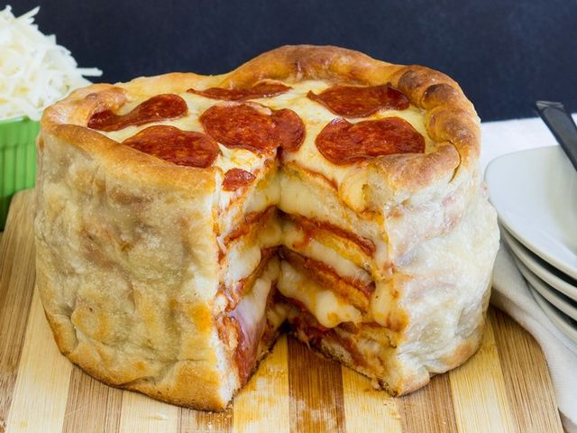 The One and Only Pizza Cake