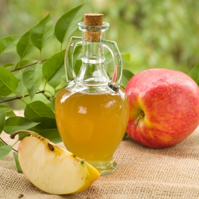 Get rid of diarrhea with Apple cider vinegar