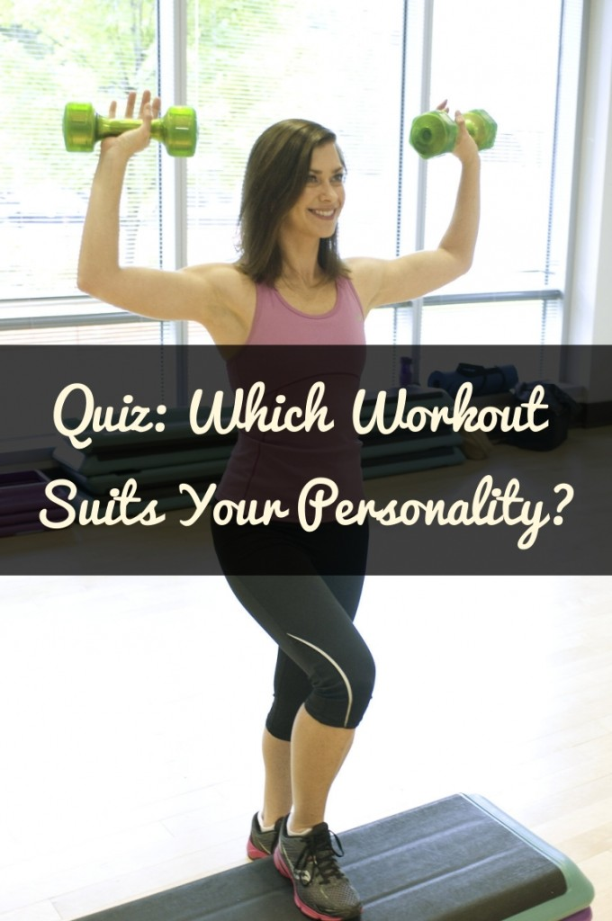 Quiz Which Workout Suits Your Personality Type?