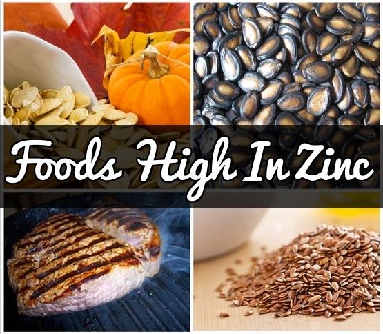 Foods High In Zinc : 1...