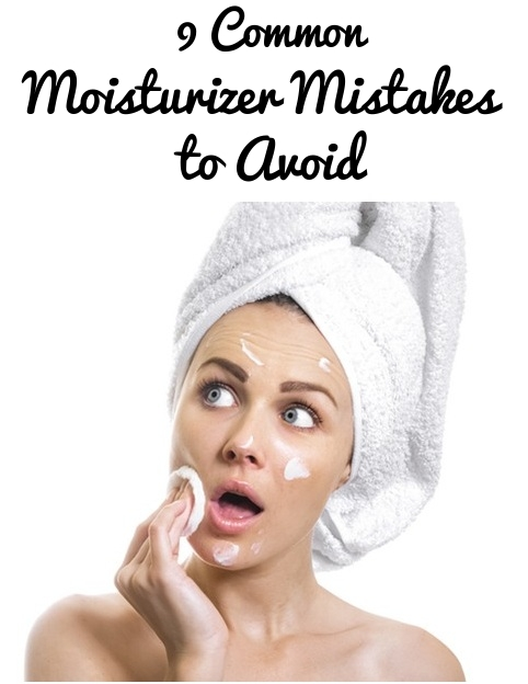 Common Moisturizer Mistakes