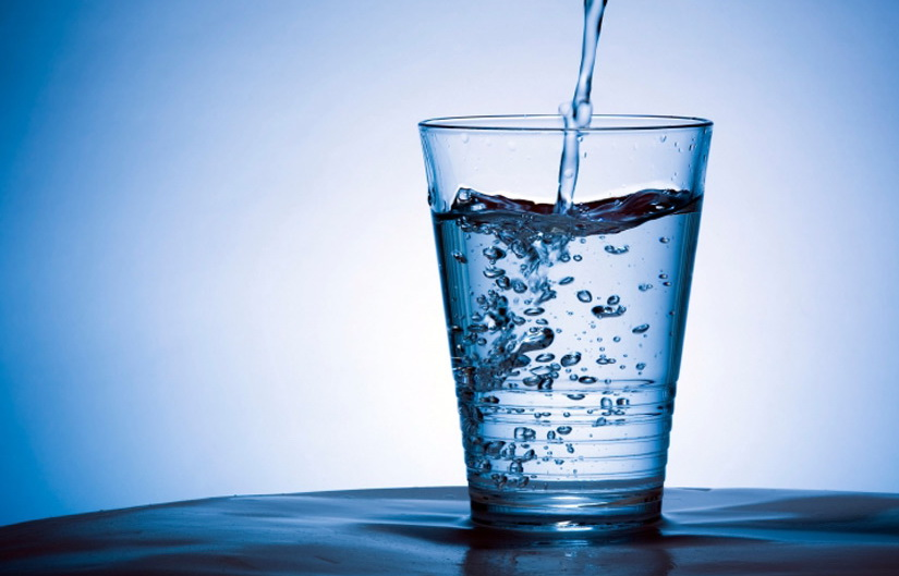 Get rid of diarrhea by drinking lots of water