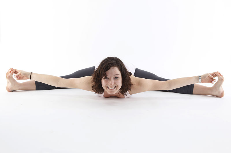 Upavistha Konasana or Wide Angle Seated Forward Bend