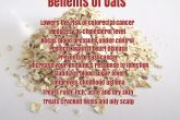 Health and Beauty Benefits Of Oats