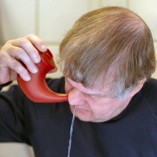 Drain your Sinuses with a Neti pot
