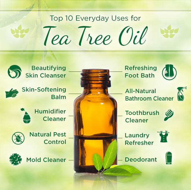 Uses of tea tree oil