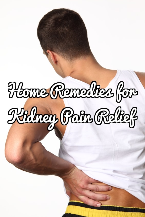 Home Remedies for Kidney Pain Relief