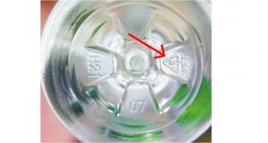 Secret of Plastic Bottles - Recycle Number Below Plastic Bottles