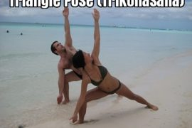 Triangle Pose (Trikonasana)
