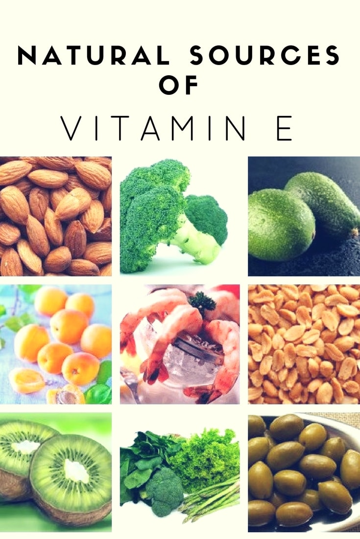 Natural Sources of Vitamin E