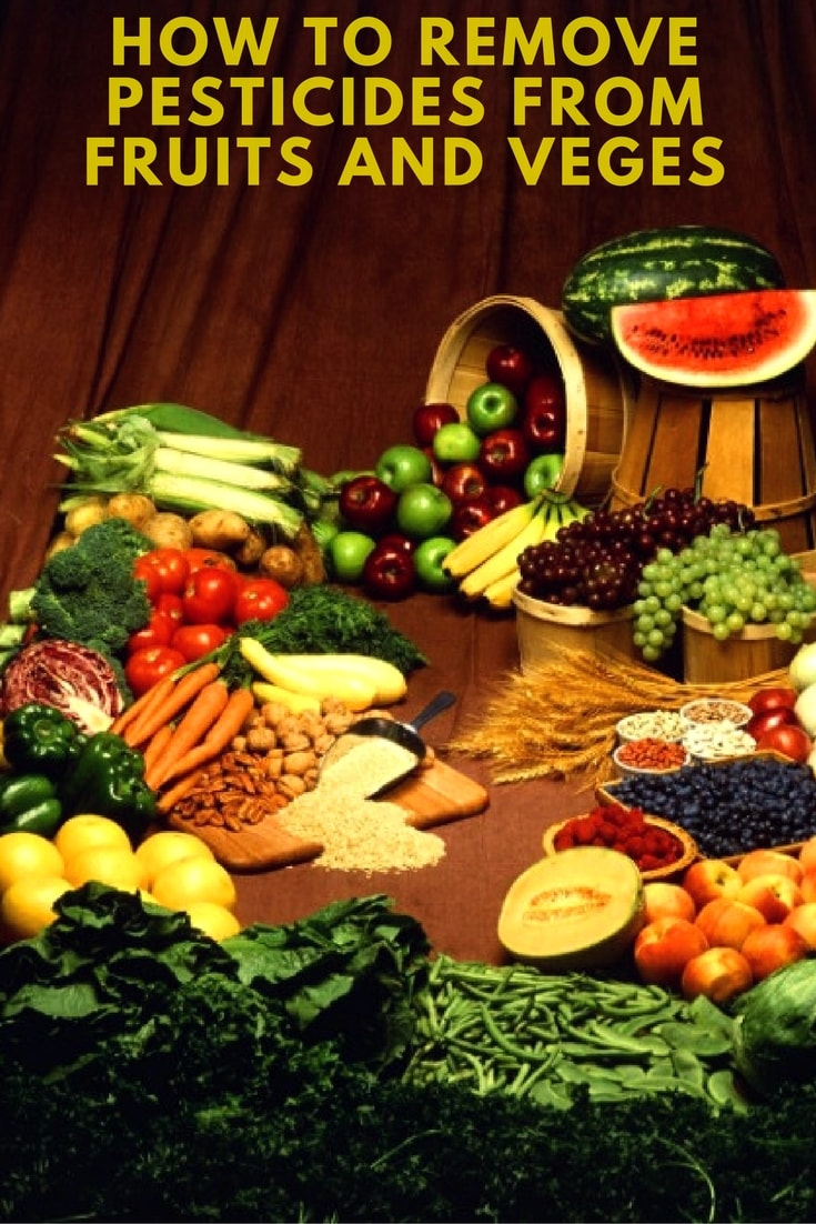 Get Rid Of Pesticide From Fruits And Vegetables