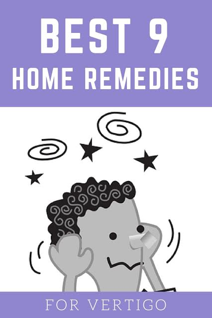 Home Remedies for Vertigo Treatment