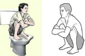 Squat While Pooping - The Indian Way